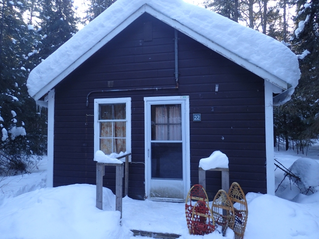 Our cabin in Algonquin Park