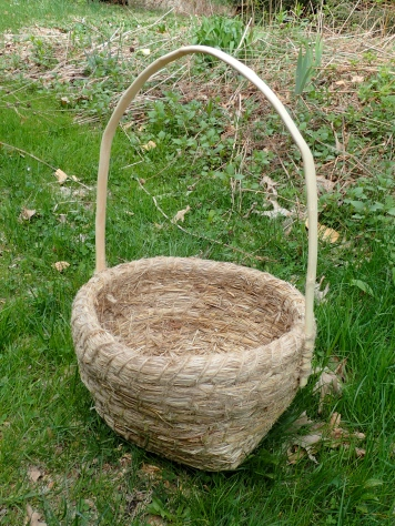 Coiled Basket of Grass