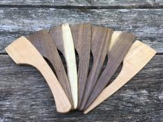 Cherry and Black Walnut spatulas